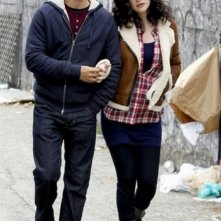 The Reluctant Fundamentalist: Riz Ahmed e Kate Hudson in una scena del film