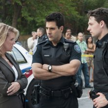 Rookie Blue: Kristina Nicoll, Ben Bass e Gregory Smith nell'episodio A Good Shoot