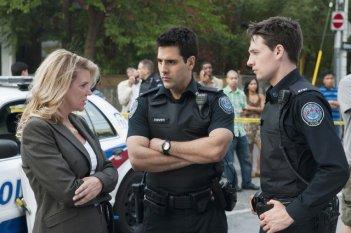 Rookie Blue: Kristina Nicoll, Ben Bass e Gregory Smith nell'episodio A Good Shoot