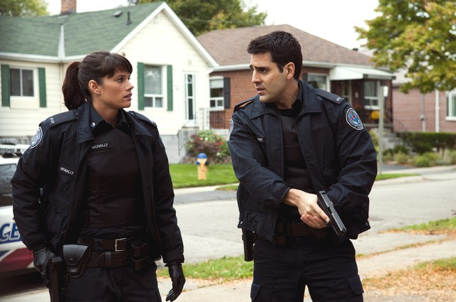 Rookie Blue Missy Peregrym E Ben Bass Nell Episodio Messy Houses 248991