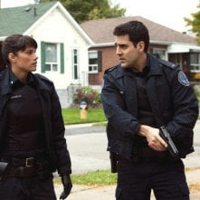Rookie Blue: Missy Peregrym e Ben Bass nell'episodio Messy Houses
