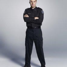 Rookie Blue: Peter Mooney in una foto promozionale della stagione 3