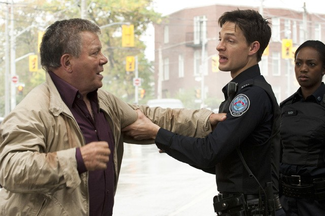 Rookie Blue William Shatner E Gregory Smith Nell Episodio The First Day Of The Rest Of Your Life 248976