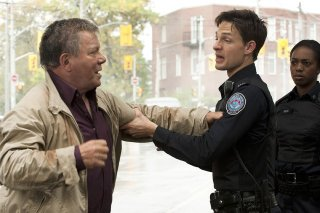 Rookie Blue: William Shatner e Gregory Smith nell'episodio The First Day of the Rest of Your Life