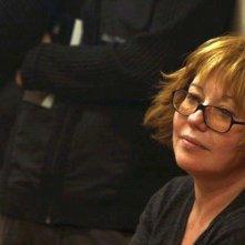 Anton's right here: la regista del documentario Lyubov Arkus in una foto dal set