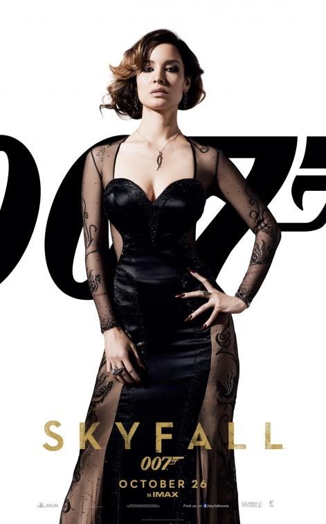 007 Skyfall Character Poster Per Berenice Marlohe Severine 249087