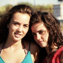 Acciaio: Anna Bellezza con Matilde Giannini in una scena del film