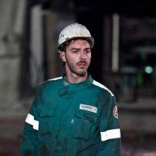 Acciaio: un'immagine di Michele Riondino tratta dal film