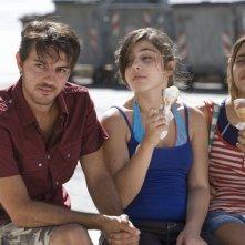 Bellas Mariposas: Davis Tagliaferro insieme a Sara Podda e Maya Mulas sul set del film