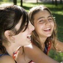Bellas Mariposas: Sara Podda e Maya Mulas sorridono sul set del film