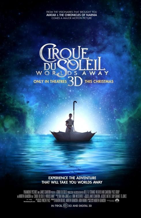 Cirque Du Soleil Worlds Away 3D La Locandina Del Film 249091