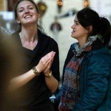Eat Sleep Die: Nermina Lukač sul set del film con la regista Gabriela Pichler