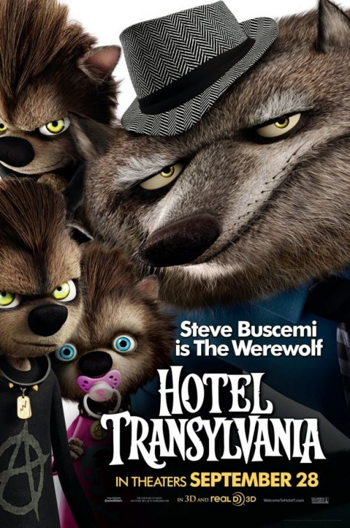Hotel Transylvania Character Poster Per L Uomo Lupo 249107