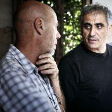 Il regista Leonardo Di Costanzo isul set de L'intervallo