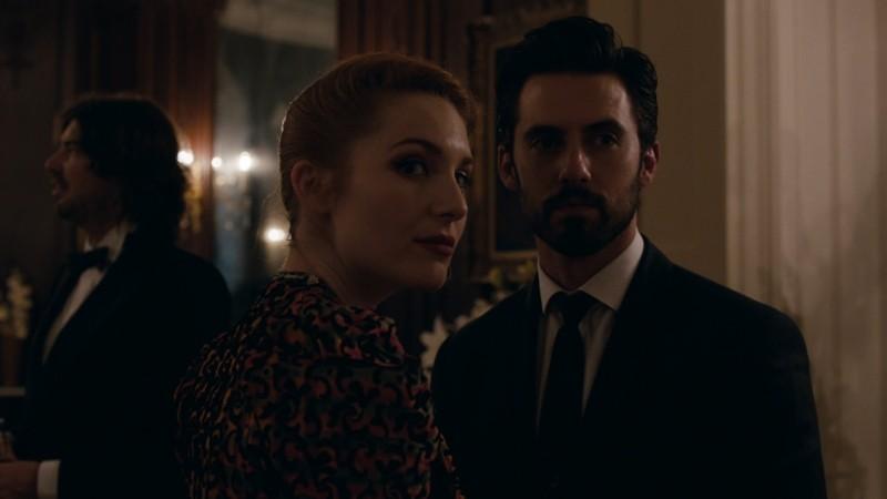 Kiss Of The Damned Josephine De La Baume In Una Scena Del Film Insieme A Milo Ventimiglia 249269