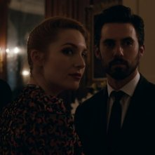 Kiss of the damned: Josephine de La Baume in una scena del film insieme a Milo Ventimiglia