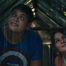 L'intervallo: Alessio Gallo e Francesca Riso in una scena del film fiction di Leonardo Di Costanzo
