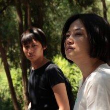 Lotus: Tan Zhuo in una scena del film insieme a Guo Zhongyu