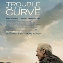 Trouble with the Curve: la locandina del film