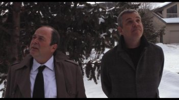 Boxing Day: Danny Huston in una scena del film insieme a Matthew Jacobs