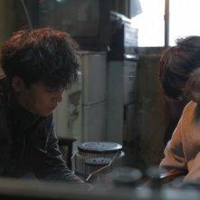 Pietà: Lee Jung-jin in una scena del film con una delle sue vittime