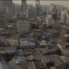 Pietà: un'immagine di Cheonggyecheon, quartiere di Seoul in cui è ambientato il film