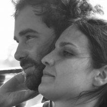 Water: i registi Nir Sa'ar e Maya Sarfaty in una foto promozionale