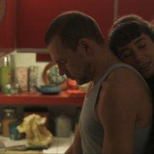 Welcome Home: la protagonista Manah Depauw in una scena del film con Kurt Vandendriessche