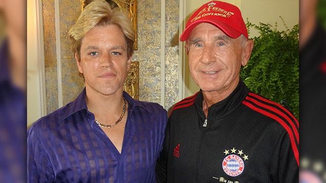 Behind The Candelabra Matt Damon Con Il Principe Von Anhalt Sul Set Del Film Dedicato A Liberace 249486