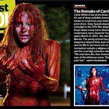 Carrie e il remake a confronto secondo Entertainment Weekly: Chloe Moretz e Sissy Spacek