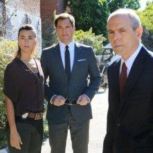 NCIS: Cote de Pablo, Michael Weatherly e Joe Spano nell'episodio Extreme Prejudice