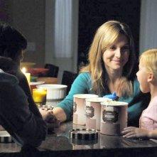 Revolution: Elizabeth Mitchell in una scena del pilot della serie