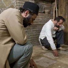 The paternal house: Mehran Rajabi in una scena del film con Nasser Hashemi