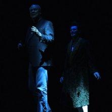 Bob Wilson's Life & Death of Marina Abramovic: Willem Dafoe e Bob Wilson in una scena