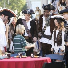 Hart of Dixie: Rachel Bilson, Tim Matheson, Cress Williams e Scott Porter nell'episodio The Pirate & The Practice
