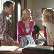 Hart of Dixie: Tim Matheson, Jaime King e Claudia Lee nell'episodio The Undead & The Unsaid