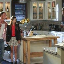 Hart of Dixie: Wilson Bethel, Rachel Bilson e Cress Williams nell'episodio The Undead & The Unsaid