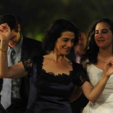 Heritage: Ruba Blal insieme alla regista e interprete del film Hiam Abbass in una scena