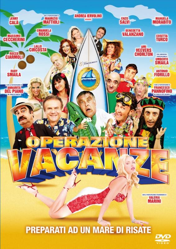 La Copertina Di Operazione Vacanze Dvd 249666