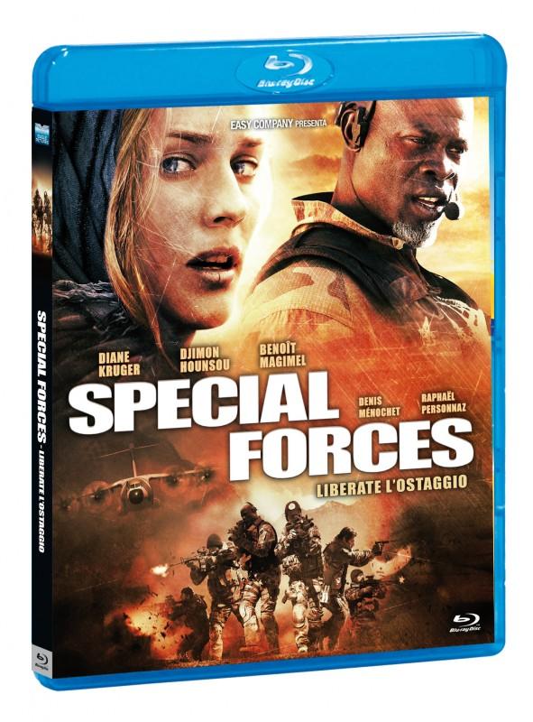 La Copertina Di Special Forces Liberate L Ostaggio Blu Ray 249669