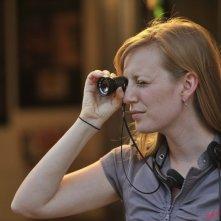 Stories We Tell: la sceneggiatrice e regista del film Sarah Polley sul set