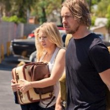 Dax Shepard con Kristen Bell in Hit & Run
