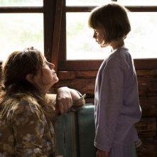 Du Vent dans mes mollets - Agnès Jaoui e Juliette Gombert in una scena
