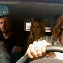 Hit & Run: Bradley Cooper in auto con Joy Bryant, Dax Shepard, Kristen Bell