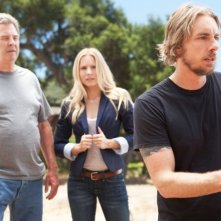Hit & Run: Dax Shepard con Beau Bridges e Kristen Bell