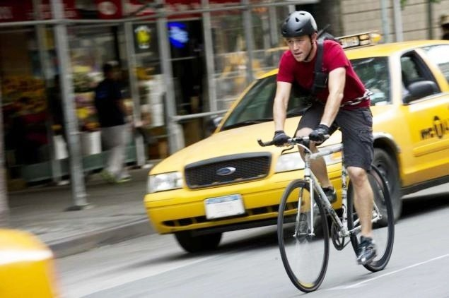 Joseph Gordon Levitt In Bici Nel Film Senza Freni Premium Rush 249922