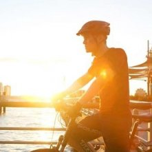 Joseph Gordon-Levitt in una immagine di Senza freni - Premium Rush
