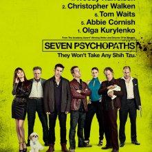Seven Psychopaths: la locandina del film