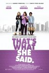 That's What She Said: la locandina del film