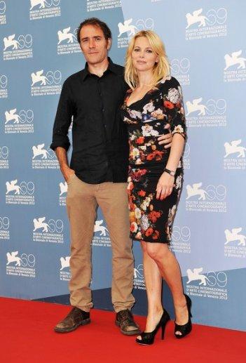 Venezia 2012: 'Gli Equilibristi' Barbora Bobulova e Valerio Mastandrea alla Mostra del Cinema